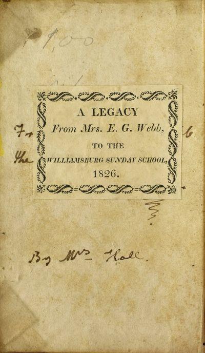 Philadelphia: Harrison Hall, 1827. Fourth Edition. Half Leather. Very Good binding. This Philadelphi...