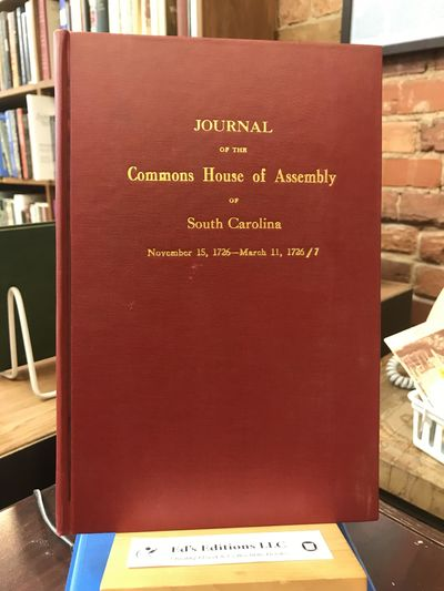 South Carolina: The State Commercial Printing Company, 1946. Hardcover. Very Good. Red cloth boards ...