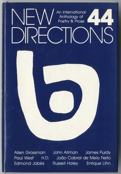 : New Directions, 1982. 186pp. Cloth. First edition, clothbound issue. Fine, in fine dust jacket. Gr...