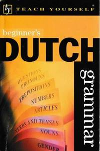 Beginner's Dutch Grammar