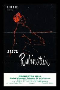 S. Hurok presents Artur Rubinstein : promotional pamphlet