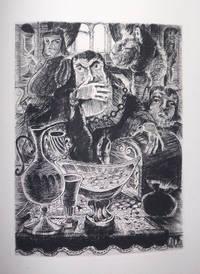 Volpone ou le renard. Adaptation en 9 tableaux de Paul Achard. Cuivres gravés par Jean Mohler.