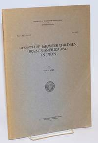 image of Growth of Japanese children born in America and in Japan