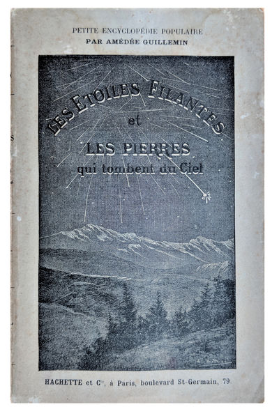 Paris:: Librairie Hachette, 1889., 1889. Series: Petite Encyclopedie Populaire. Small 8vo. xvi, 276 ...
