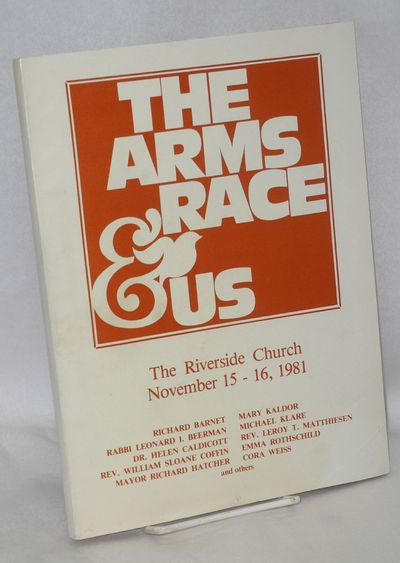 New York: The Riverside Church Disarmament Program, 1981. 144p., wraps, 8.5x11 inches, owner's name ...