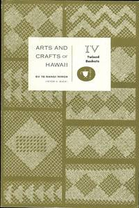image of ARTS AND CRAFTS OF HAWAII.  SECTION IV.  TWINED BASKETS.  BERNICE P. BISHOP MUSEUM SPECIAL PUBLICATION 45.