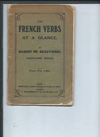The French Verbs At a Glance 93rd edition