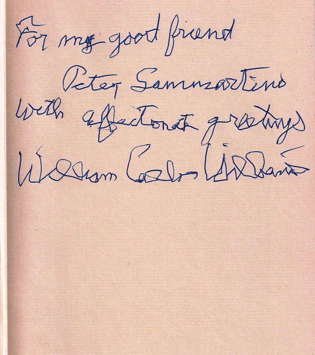william carlos williams selected poems pdf