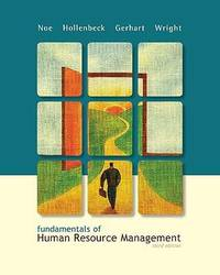 fundamentals of human resource management by wright, raymond andrewimage of fundamentals of human resource management