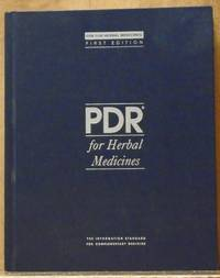 PDR for Herbal Medicines (Physician's Desk Reference for Herbal Medicines) by Medical Economics Company - 1998