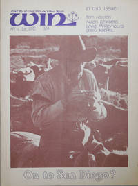 WIN (Magazine) A Publication of the New York Workshop In Nonviolence Volume VIII Number 6