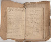 AMBER OIL, GUM MYRRHA, QUICKSILVER, TURPENTINE, ZEDOARY, AGARICUS, BORAX, STYRAX, AND MORE - Handmade twenty-year ledger from a Pennsylvania physician documenting his purchases of medicine and supplies between 1861 and 1880