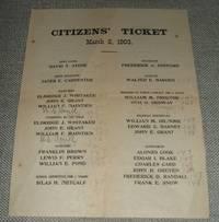 image of Vintage Political ephemera 1903