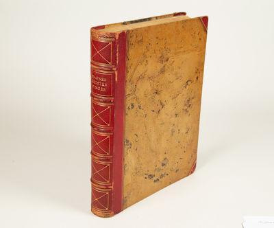 Berlin: Drei Masken Verlag, 1923. Folio. Original publisher's quarter dark red morocco with marbled ...