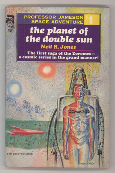 New York: Ace Books, 1967. Small octavo, pictorial wrappers. First edition. Ace Books F420. First of...