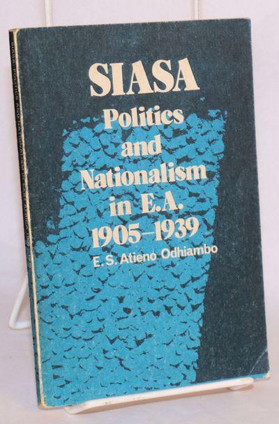 Nairobi: Kenya Literature Bureau, 1981. Paperback. 148p., 7x5 inch uncoated wraps; slight edgewear w...
