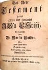 View Image 2 of 2 for Biblia ; Das ist; Die Heilige Schrift Altes und Neues Testaments ... des Dritten Buchs der Maccabear... Inventory #00008790