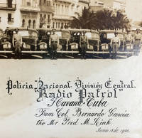 Panoramic Photograph of Police Headquarters in Old Havana