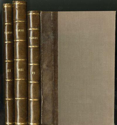 Madrid: Fundicion y Libreria de D. Eusebio Aguado, 1855. First Edition. Hardcover (Quarter Leather)....