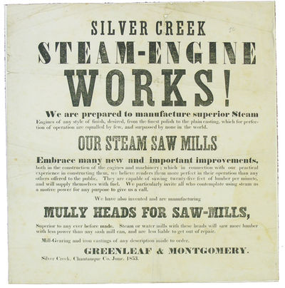 Silver Creek, NY: Greenleaf & Montgomery, 1853. First edition. Moderate wear, and slight loss along ...