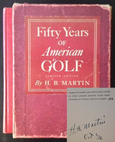 New York: Dodd, Mead & Company, 1936. 1st. Cloth. Collectible; Very Good. The 1936 signed/limited, i...