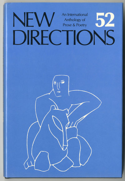 : New Directions, 1988. 186pp. Cloth. First edition, clothbound issue. Fine in dust jacket. Antin, B...
