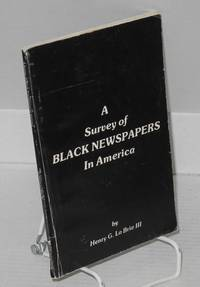 A survey of Black newspapers in America
