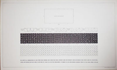 New York: Visual Arts Museum, 1976. First edition. Loose Sheets. Fine. Large single-sheet poster cre...