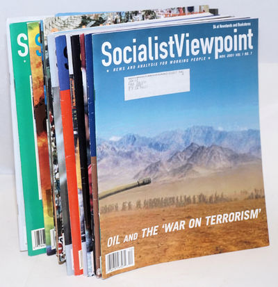 San Francisco: Socialist Viewpoint Publishing Association, 2004. Seventeen issues of the glossy maga...