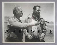 """Actor John Qualen Signed Photo, Posed With John Wayne In A Scene From  """"The Searchers"""""""