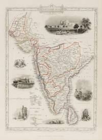 Southern India - Including the Presidencies of Bombay and Madras. With Vignettes of Shuhur,...