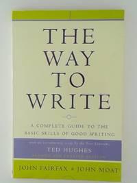 The Way to Write Paperback Fairfax  John