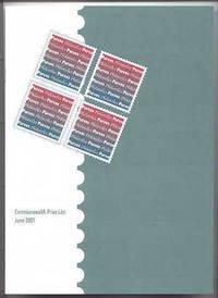 image of COMMONWEALTH PRICE LIST JUNE 2001.