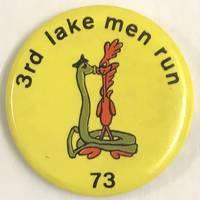 3rd Lake Men Run / 73 [pinback button]