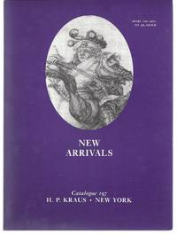 Catalogue 197: New Arrivals: in a wide varieties of fields including Archaeology, Bibliography, Classics, English History & Literature, Illustrated Books, Numismatics, Italian History & Literature, Medicine, Stenography, Natural History, Reformation, Wome