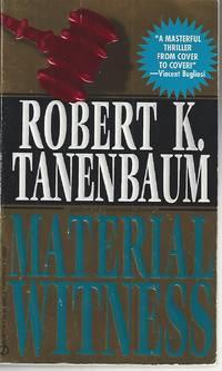 Material Witness by Tanenbaum, Robert K. (August 1, 1994) Mass Market Paperback
