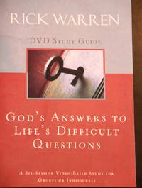 God's Answers to Life's Difficult Questions Study Guide by  Rick Warren - Paperback - 2009 - from MAD HATTER BOOKSTORE (SKU: 003860)