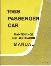 1968 Passenger Car Maintenance and Lubrication Manual SE-740-68