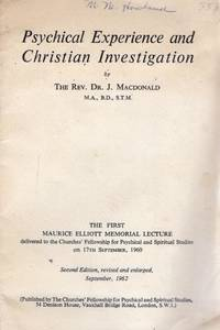 Psychical Experience and Christian Investigation