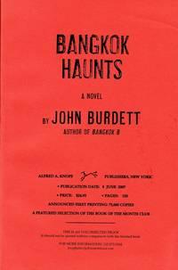 image of BANGKOK HAUNTS - SIGNED UNCORRECTED PROOF COPY