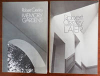 image of Two Trade Paperbound Books (Later and Memory Gardens), Both Signed