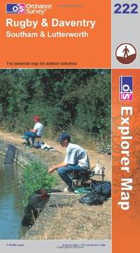 image of Rugby and Daventry, Southam and Lutterworth (Explorer Maps) (OS Explorer Map Active)