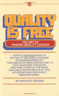 image of Quality is Free: The Art of Making Quality Certain (Signet Shakespeare)