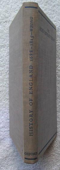History of England 1688-1815