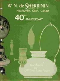 W. N. de Sherbinin Products, Hawleyville, Connecticut: 40th Anniversary  Catalog
