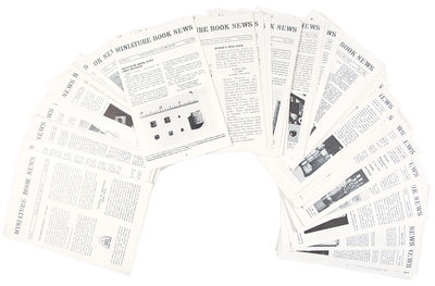 St. Louis, 1993. 78 consecutive issues, 8vo. Stapled self-wrappers Scarce newsletter issued by minia...