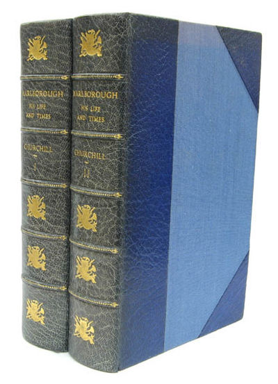 CHURCHILL, Winston S pencer ,  Sir  (1874-1965) · Marlborough, His Life and  Times London  Harrap and Co. 1958, 1958. 2 volumes. Thick octavo  pp.1050,  1078. 807d438ac41
