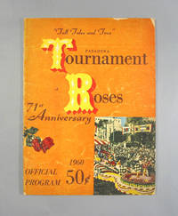 image of 1960 Pasadena Tournament Of Roses 71st Anniversary Official Program