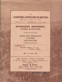 CENTRAL AFRICAN PLANTER, by  R. S. (editor) Hynde - Hardcover - 1983 - from Karen Wickliff - Books (SKU: 0092029)