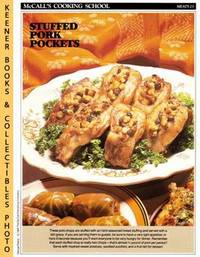 image of McCall's Cooking School Recipe Card: Meat 23 - Baked Stuffed Pork Chops :  Replacement McCall's Recipage or Recipe Card For 3-Ring Binders : McCall's  Cooking School Cookbook Series